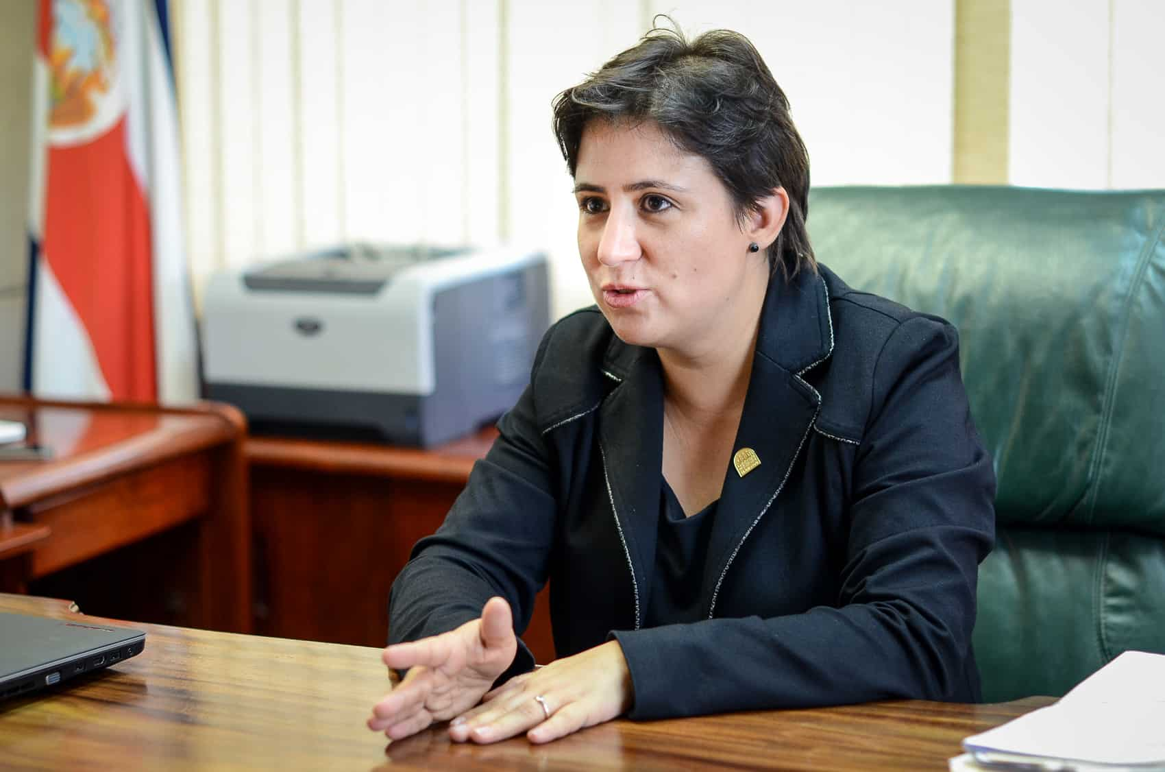 Ombudswoman Monserrat Solano Carboni