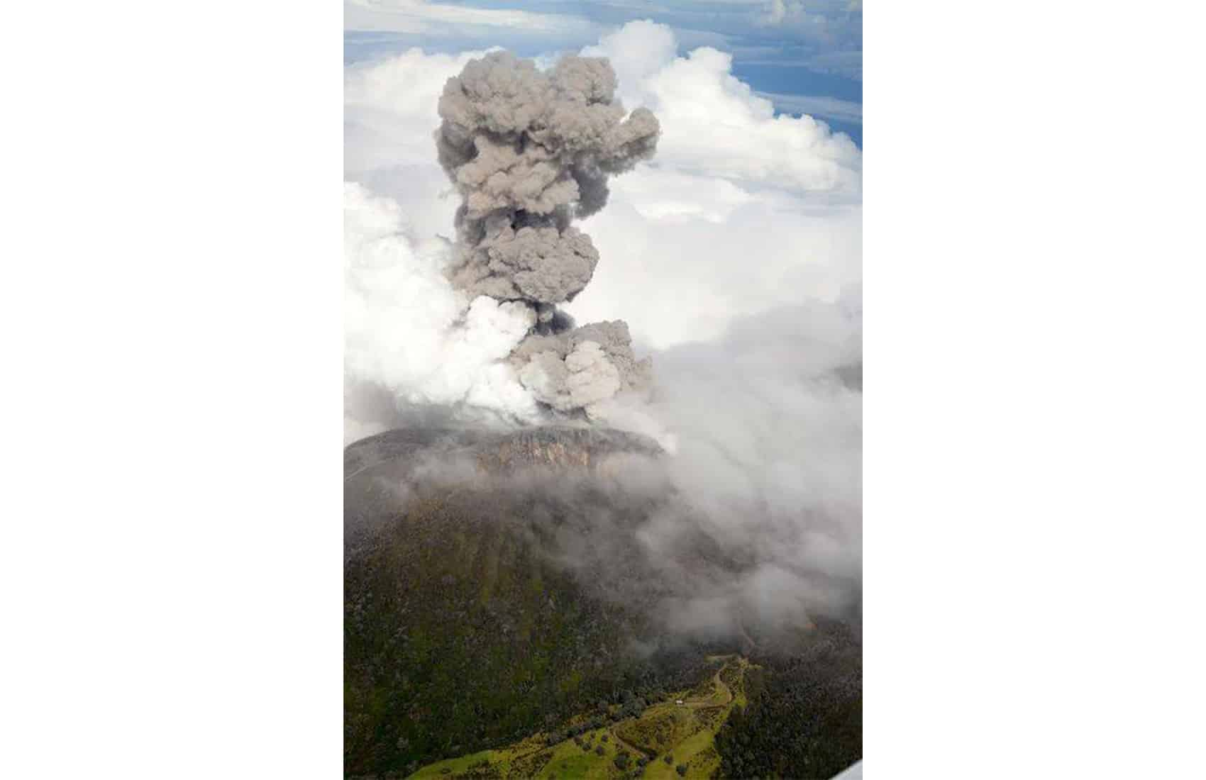 Turrialba Volcano Spewed Ash Across Costa Rica This Week In Its Largest Eruption 150 Years Via Facebook