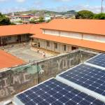 San Ramón public school receives landmark solar panels