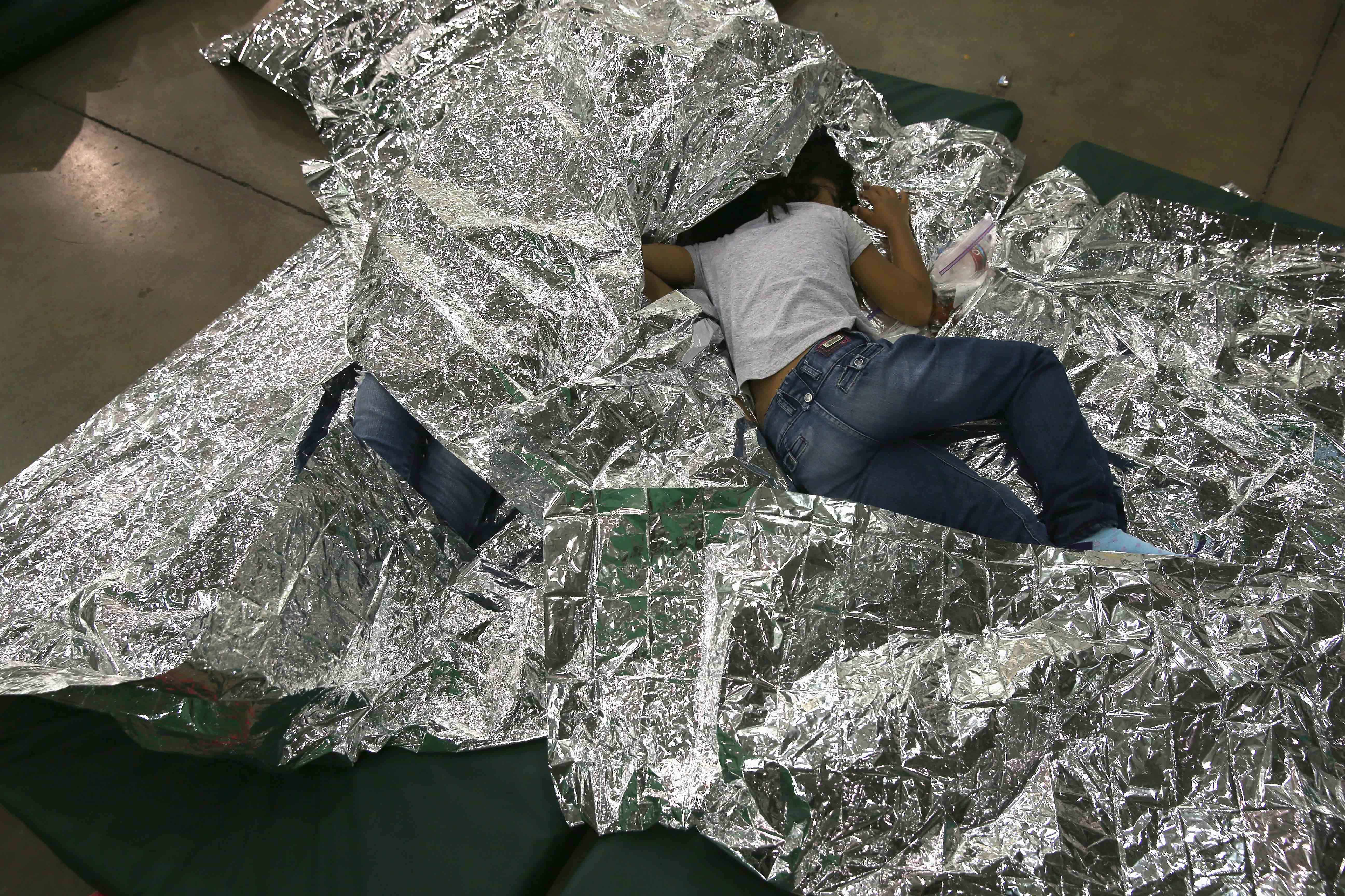 Central American child migrants
