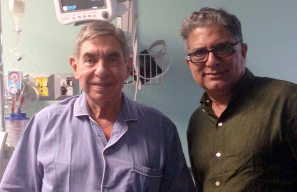 Óscar Arias Sánchez and Deepak Chopra