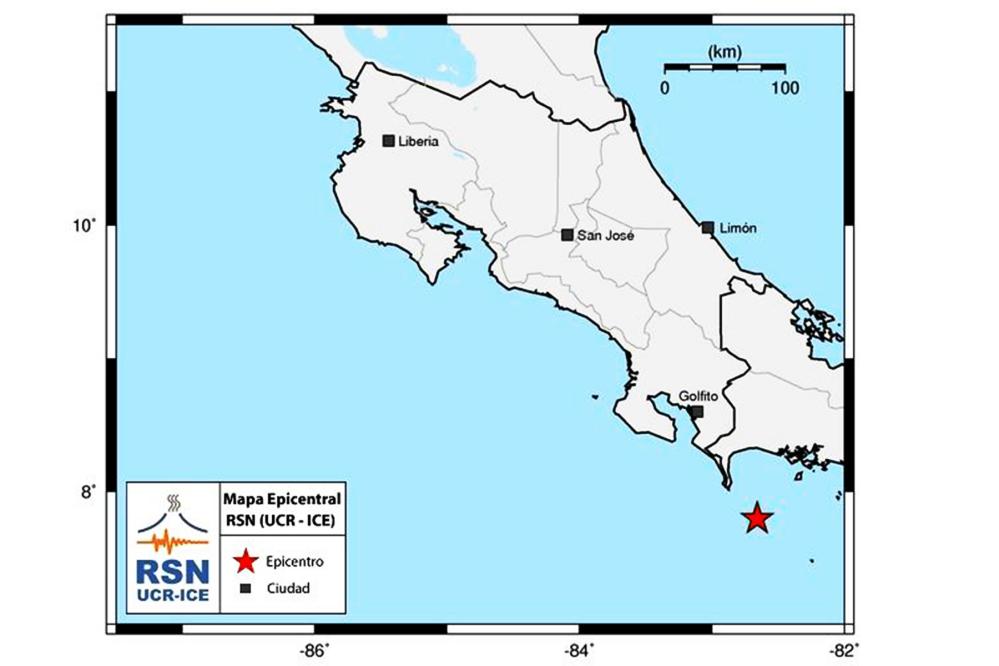 Tremor epicenter Dec. 8, 2014