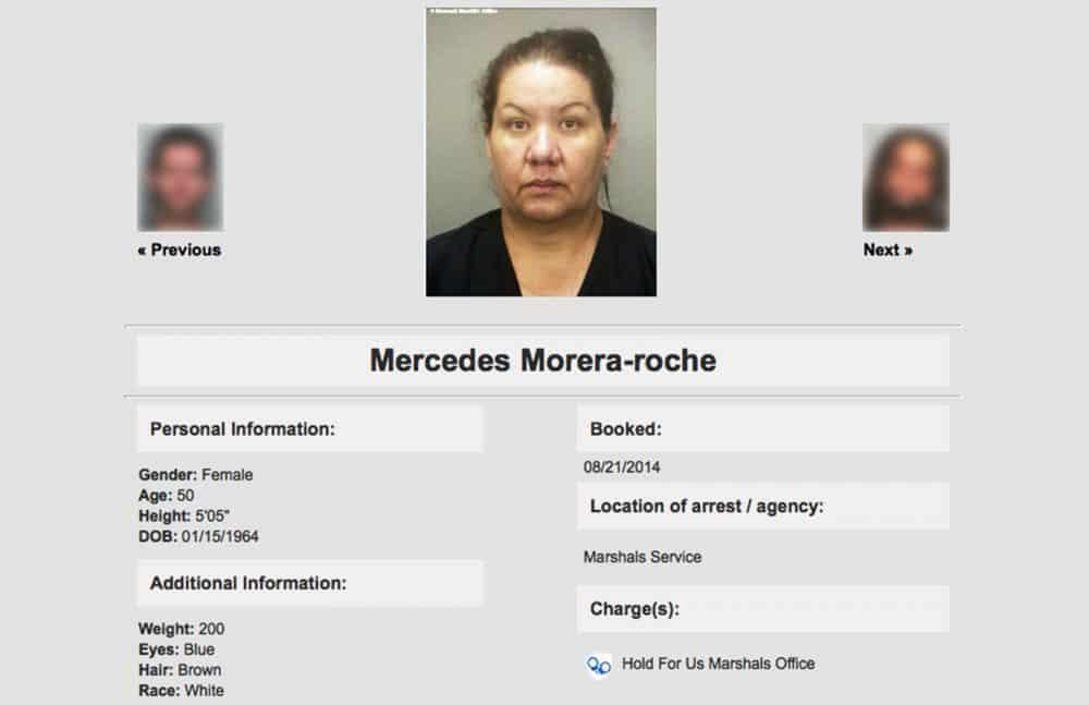 Mercedes Morera Roche mugshot