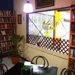 Friendship Library lends books out of Atenas restaurant
