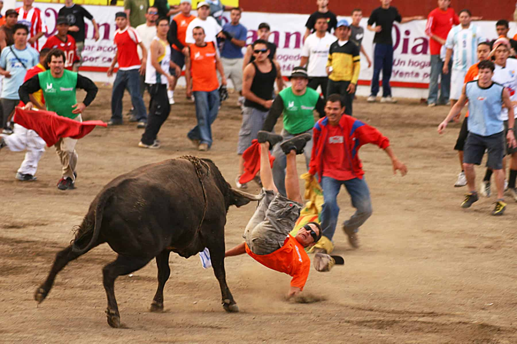 Tico bullfights at Zapote