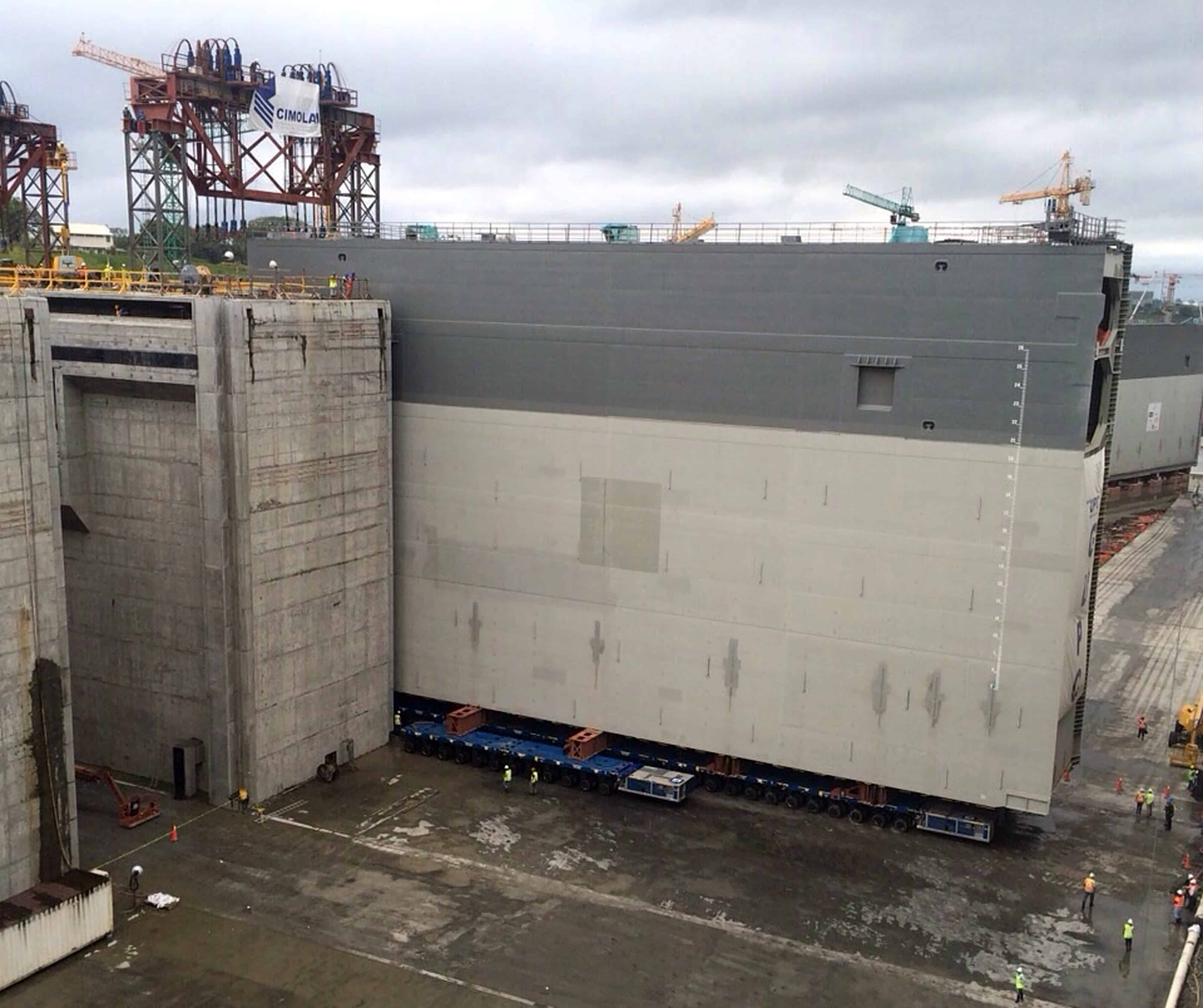 work to resume thursday on widening of panama canal the tico