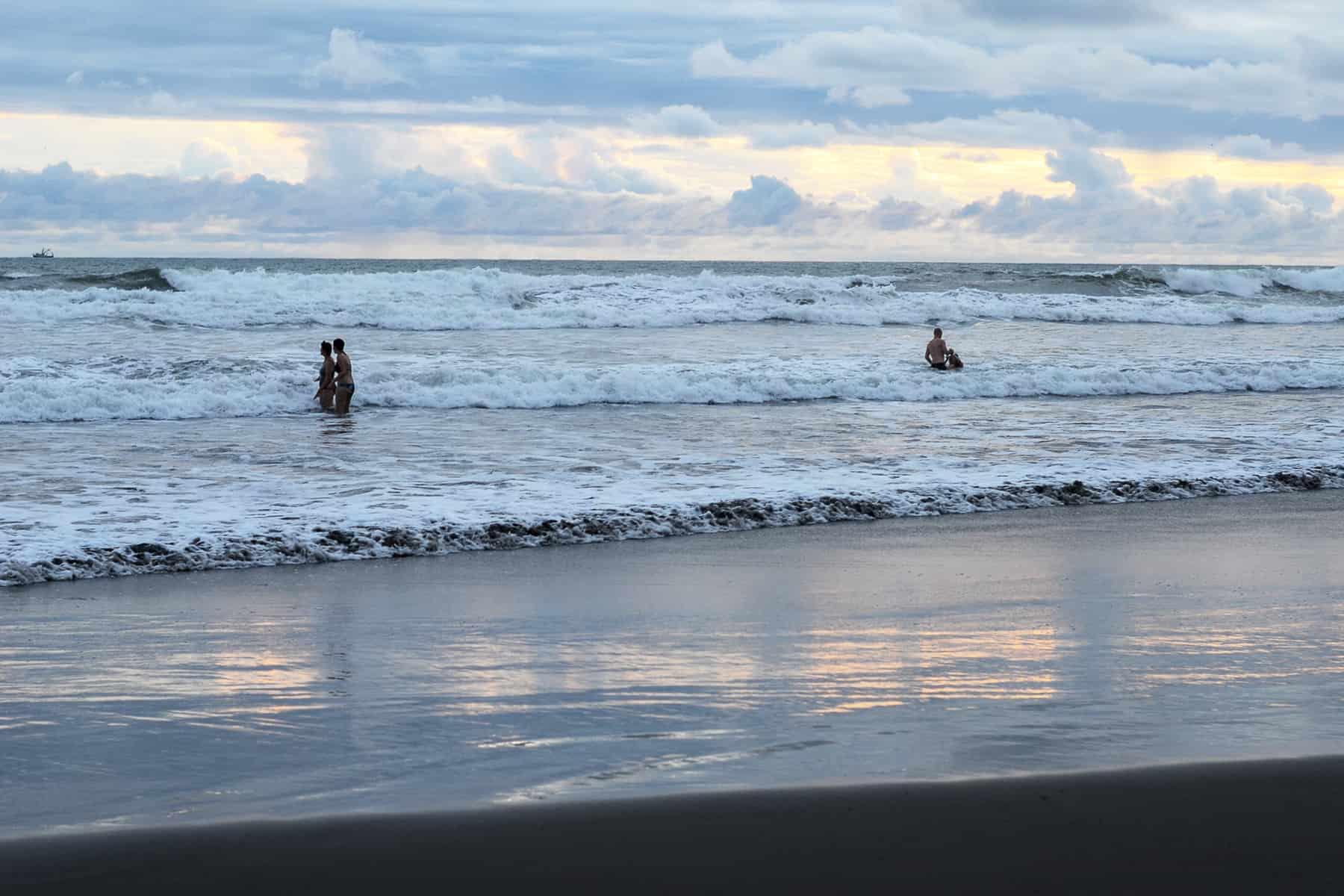 Beachgoers