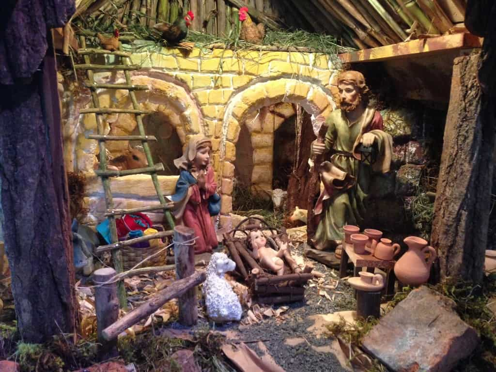 Christmas Decorations Nativity Scene Outdoor