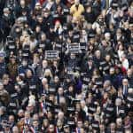 French rally for attack victims on eve of Paris march
