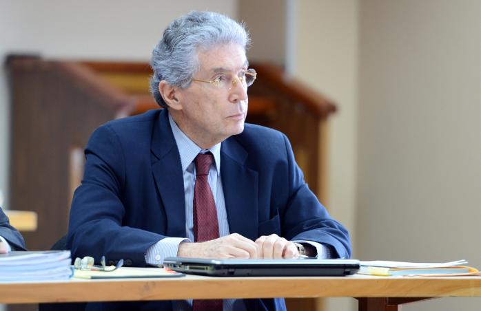 Former Environment Minister Roberto Dobles Mora
