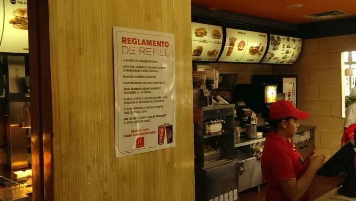 Eight Official Rules For Getting Your Free Refill At Mcdonalds