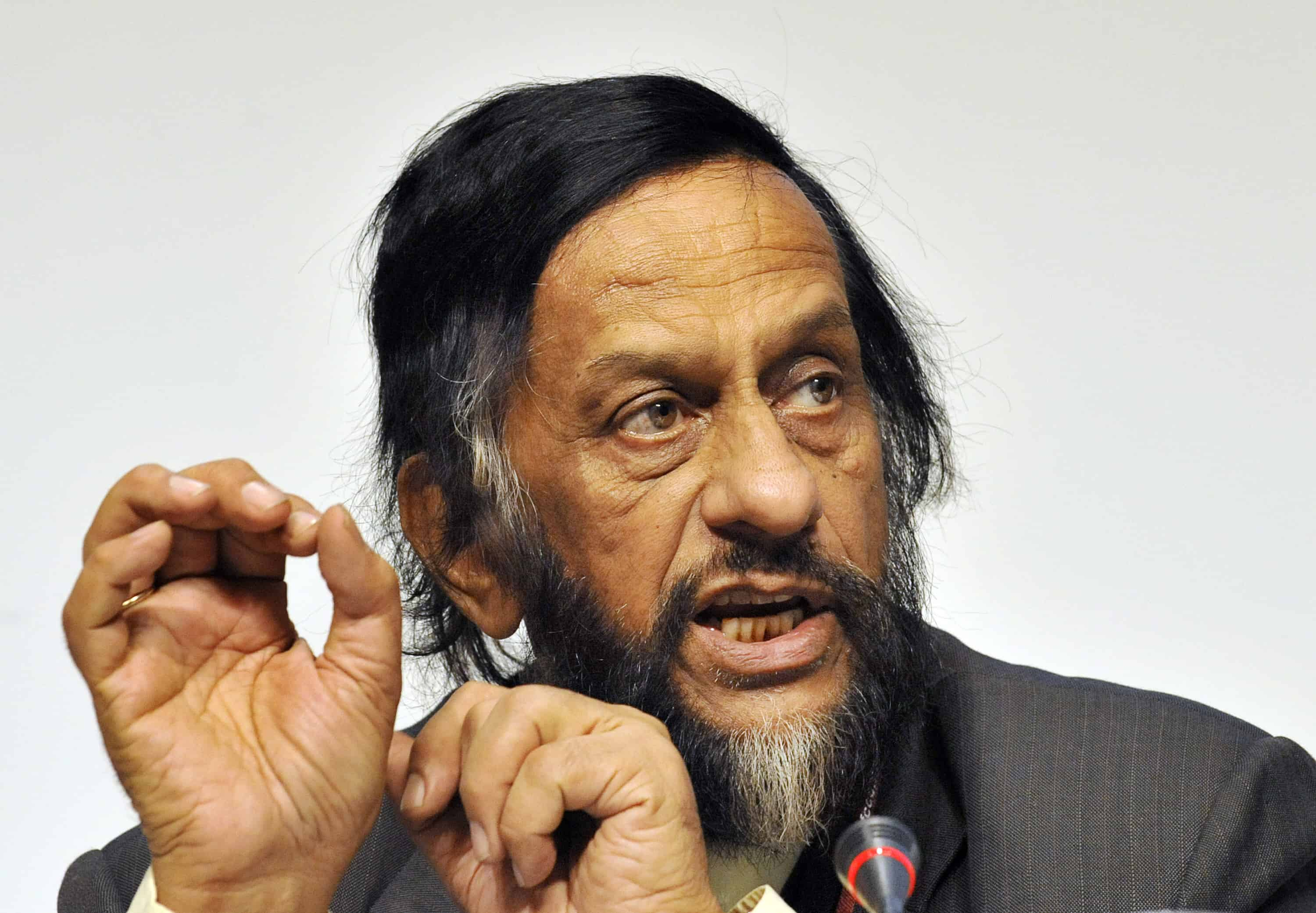 Dec. 12, 2009 file photo of Rajendra Pachauri, chairman of the International Panel on Climate Change.