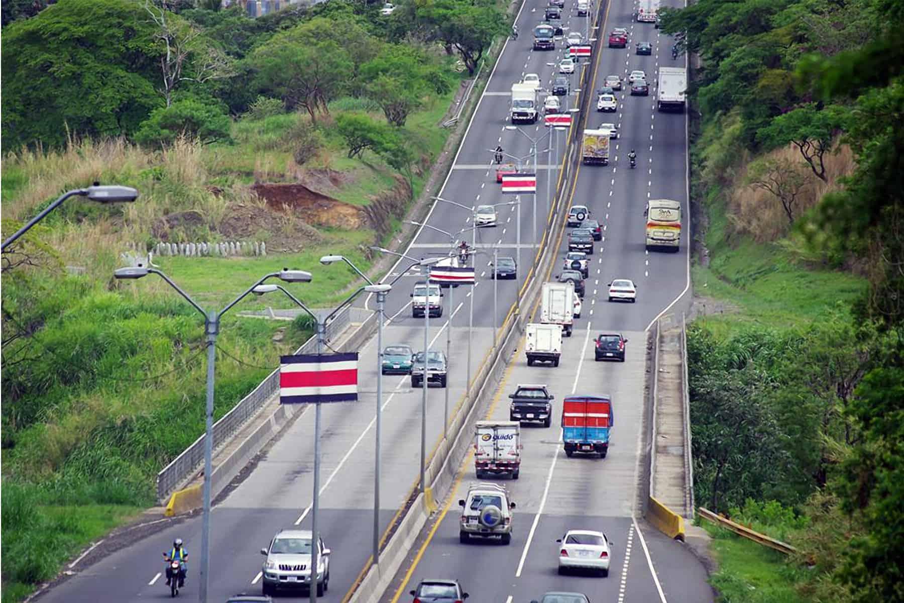 San Ramón highway