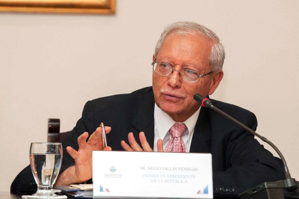 Vice President Helio Fallas