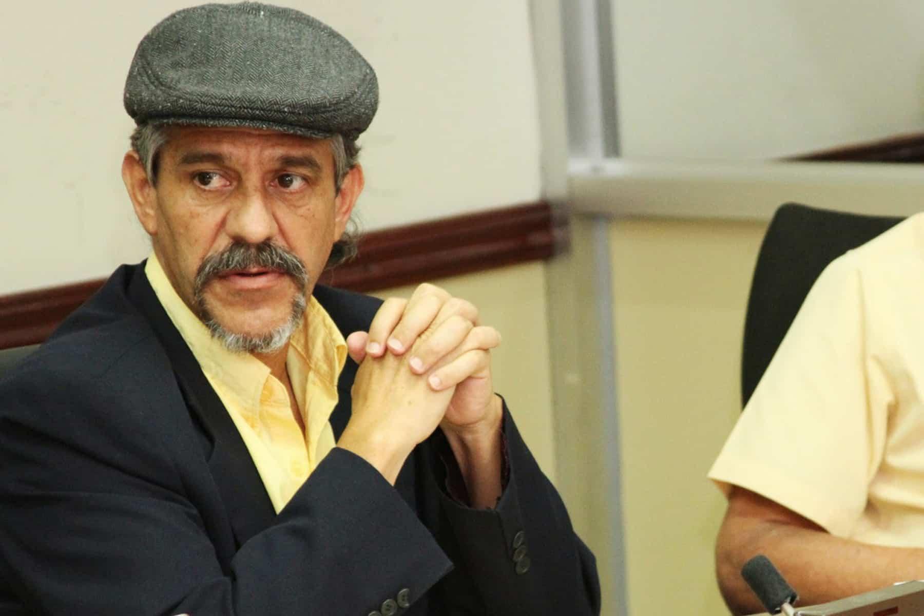 Broad Front legislator Ronal Vargas Araya