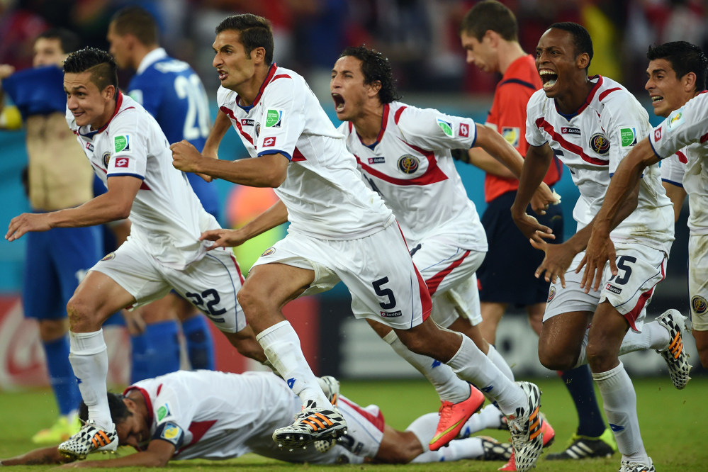 Costa Rica at FIFA World Cup Brazil 2014
