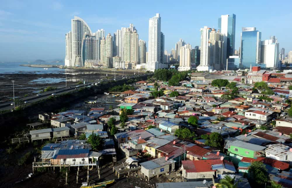 A view of the Punta Pacifica neighborhood, in Panama City, on April 24, 2013.