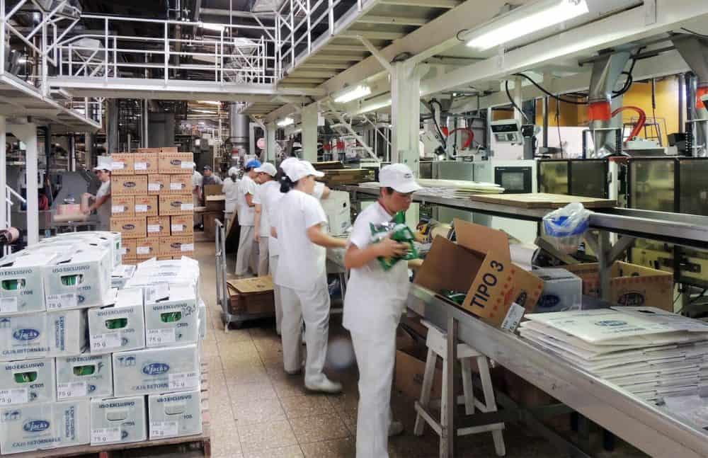 Alimentos Jack's manufacture plant