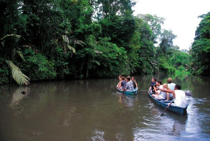 Tortuguero National Park, on Costa Rica's northern Caribbean coast.