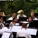 "The band plays on: ""Summer Series"" serenades Plaza de la Democracia"
