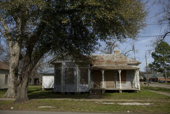 A home is seen on March 6, 2015 in Selma, Alabama.