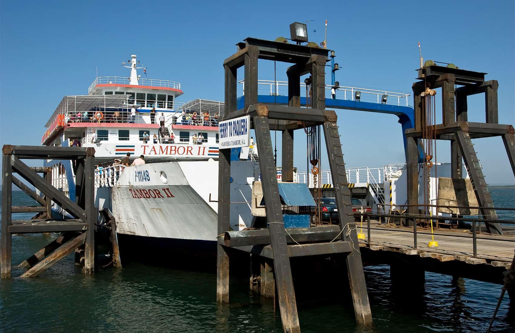 Puntarenas - Paquera ferry