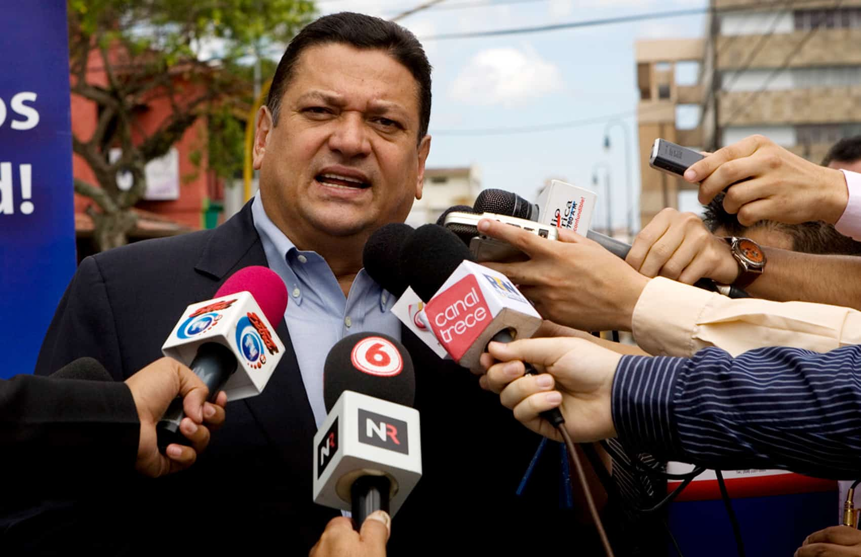 Former San José Mayor and ex presidential candidate Johnny Araya Monge.