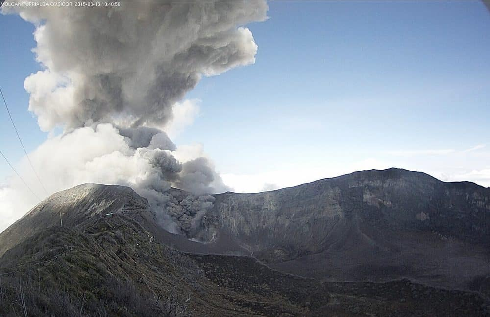 Turrialba Volcano, March 13, 2015.
