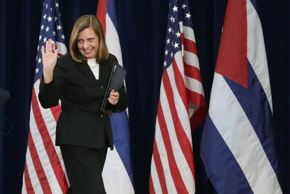 Cuban Foreign Ministry Director for North America Josefina Vidal .