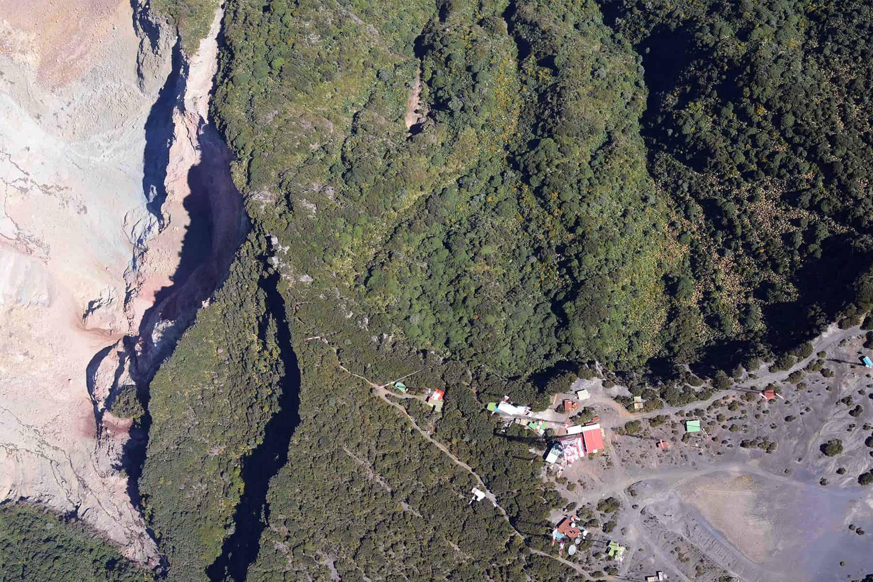 Landslides near Irazú Volcano, March 2015