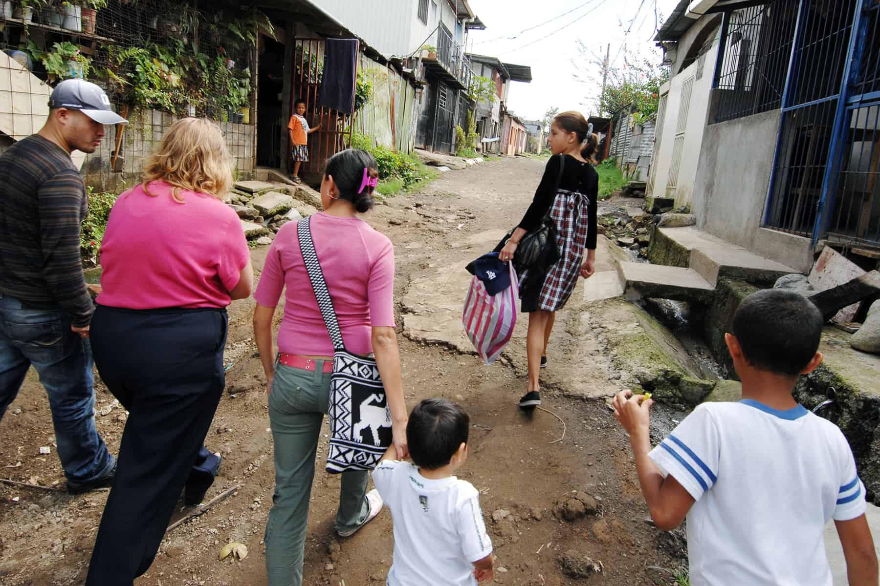 La Carpio slum, San José