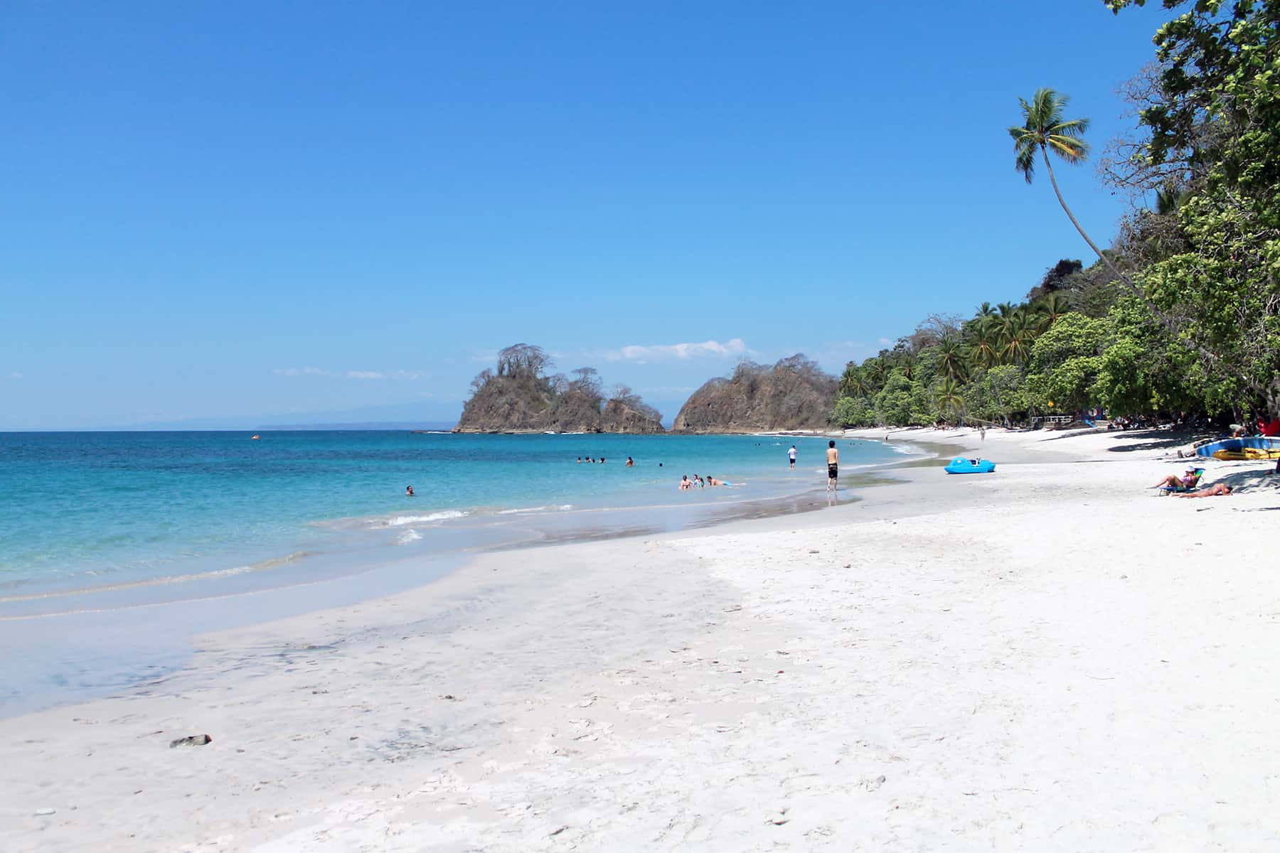 Playa Blanca In Costa Rica S Central Pacific Is One Of Three Beaches Awarded With The Maximum Five Stars This Year Under Ecological Blue Flag Program