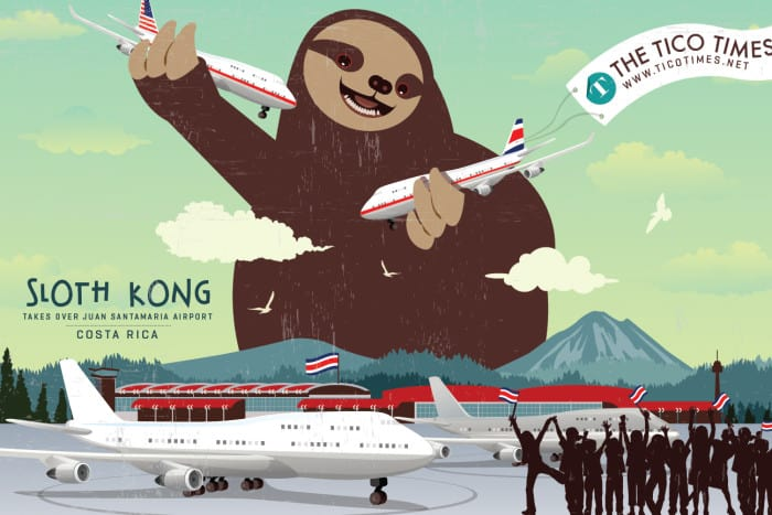 sloth kong airport