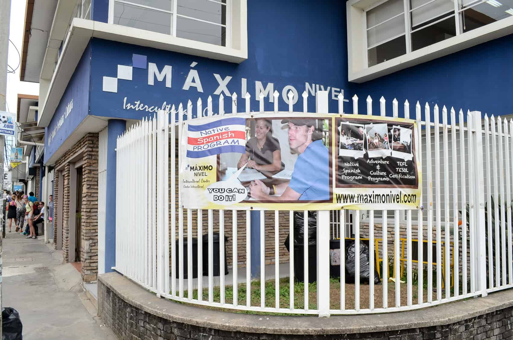 The Máximo Nivel Building located in San Pedro, east of San José, March 17, 2015.