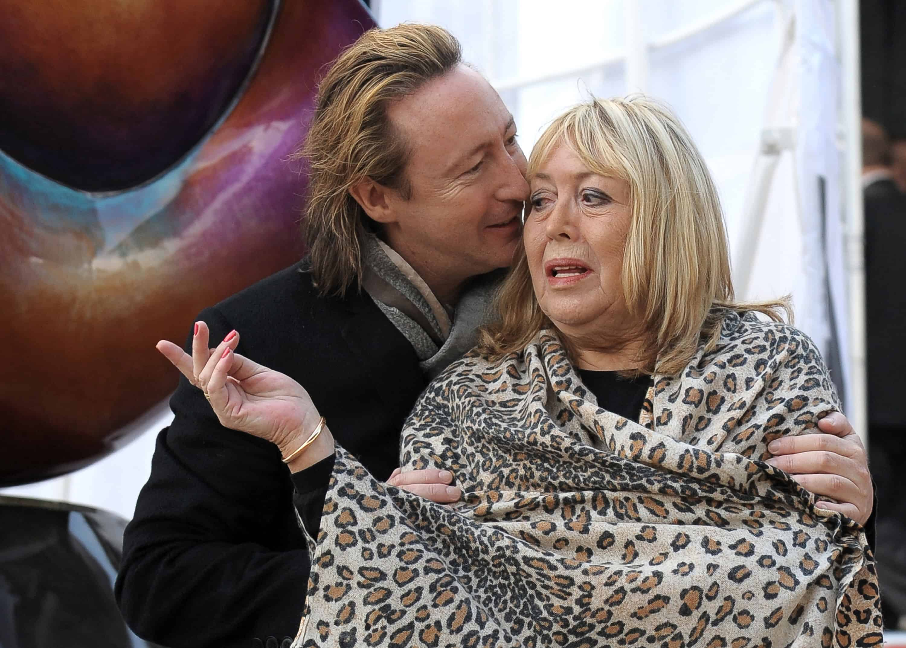 A 2010 photo shows Cynthia Lennon and son Julian.
