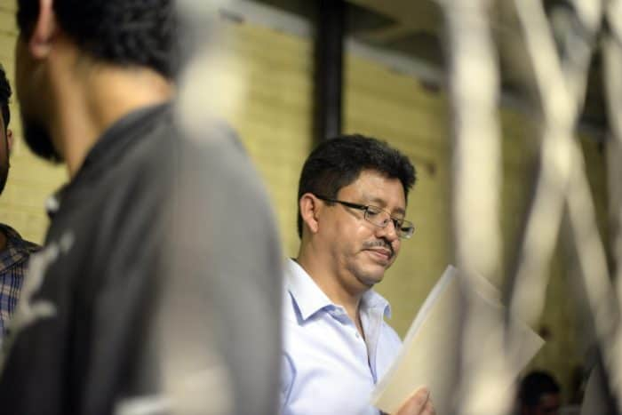 Omar Franco, chief of Guatemala's tax-collecting service, remains in a security cell in court.