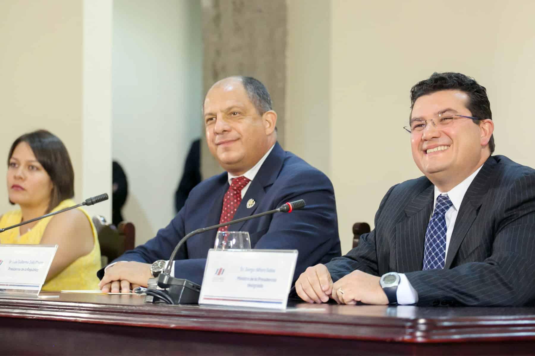 Ana Gabriel Zúñiga Aponte, Luis Guillermo Solís, Sergio Alfaro