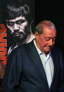 Top Rank Founder and CEO Bob Arum.