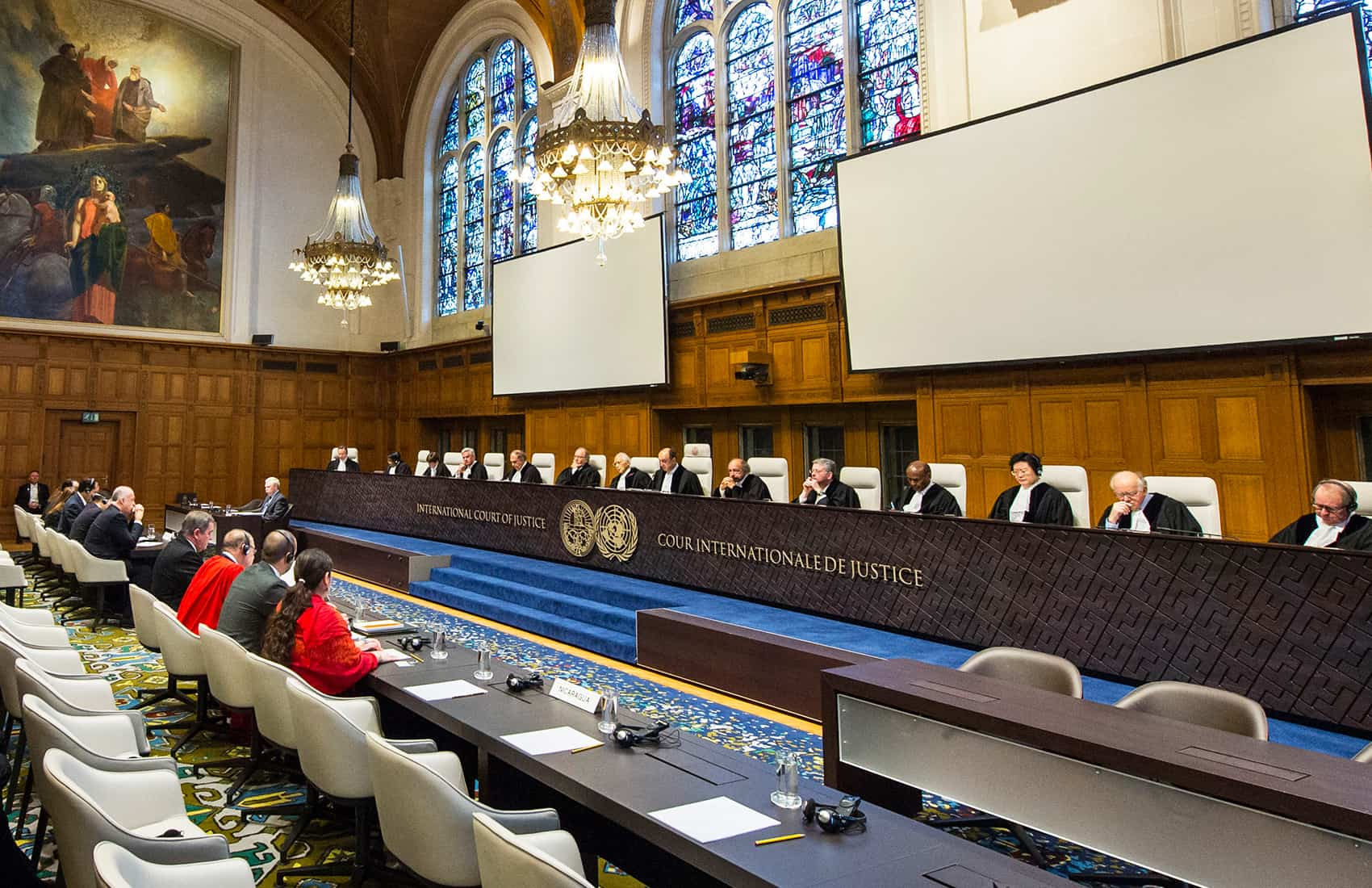 Final hearings before the International Court of Justice