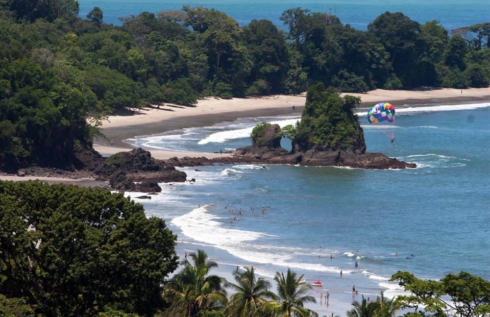 Costa Rica's Central Pacific coast