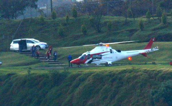 Top Mexican official David Korenfeld was forced to resign after a citizen took photos of him and his family boarding a government helicopter to take a family vacation. The photos went viral on social media. March, 2015.
