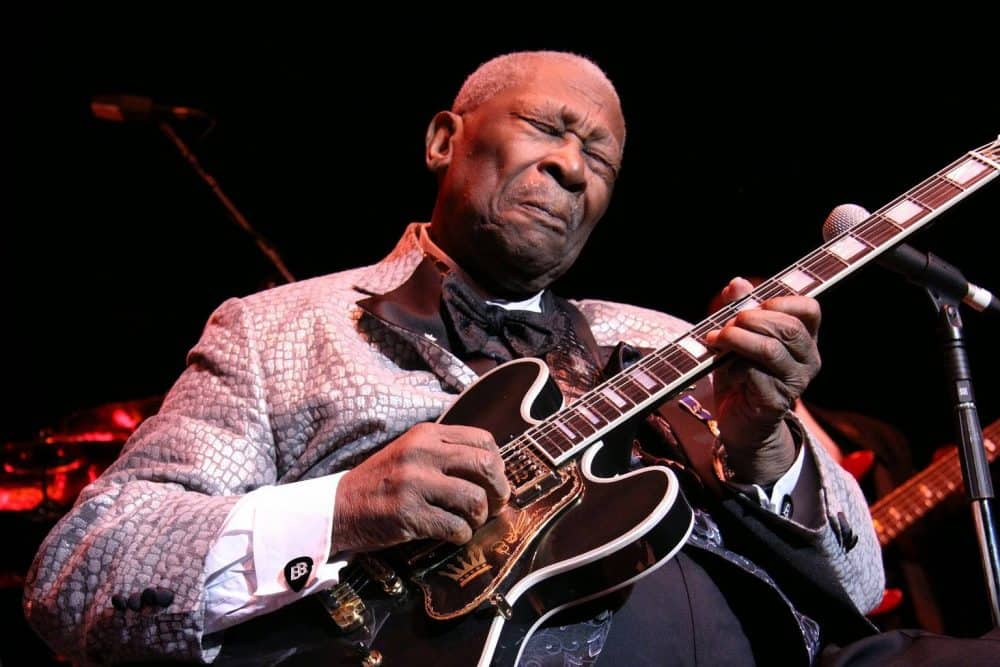 Blues legend B.B. King.