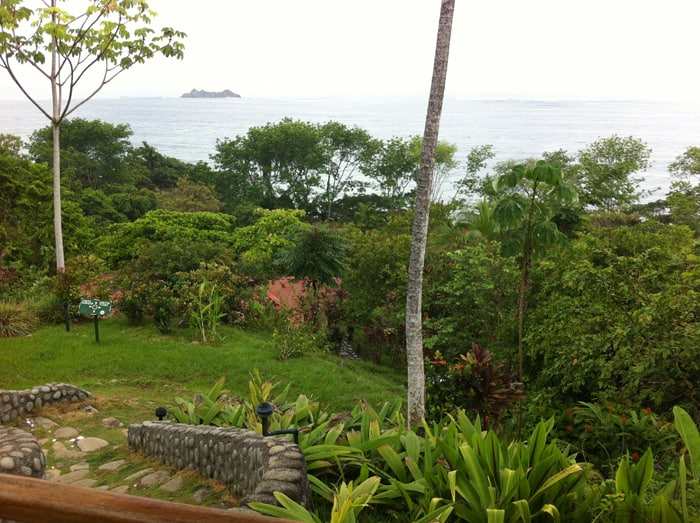View from the lookout at La Cusinga.