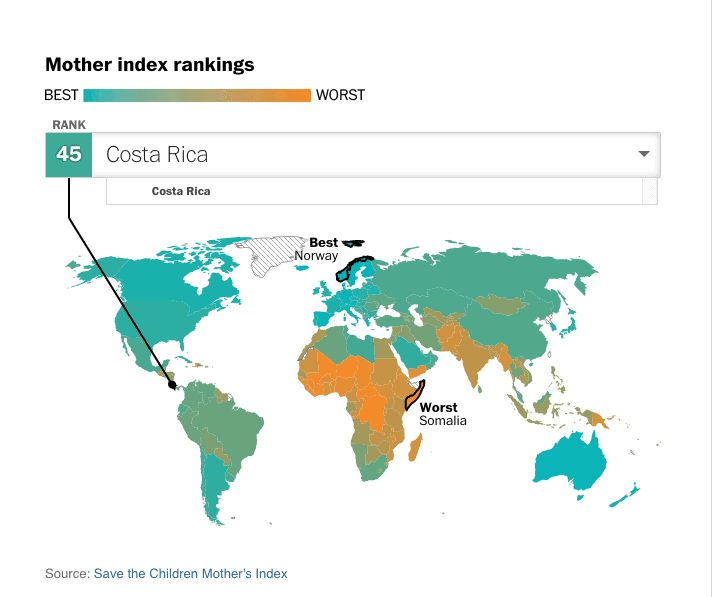 The State of the World's Mothers, 2015