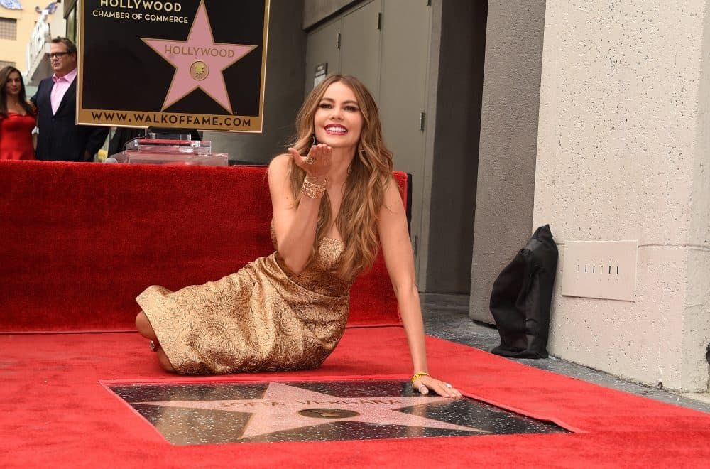 Actress Sofia Vergara is honored on The Hollywood Walk Of Fame on May 7, 2015 in Hollywood, California.