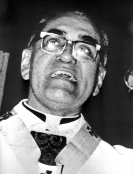 A 1979 photo of San Salvador Archbishop Óscar Arnulfo Romero.