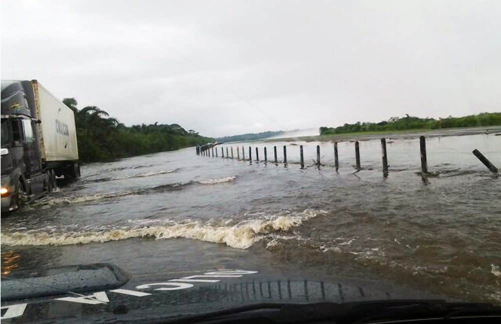 Flooding in Limón - May 24, 2015.