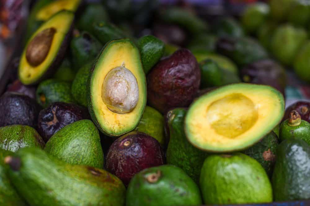 Avocados for sale in San José.