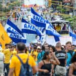 PHOTO REPORT: Marching on May 1 in Costa Rica