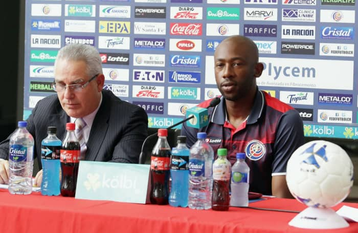 Coach Paulo Wanchope has yet to score a win as head coach of Costa Rica's men national team.